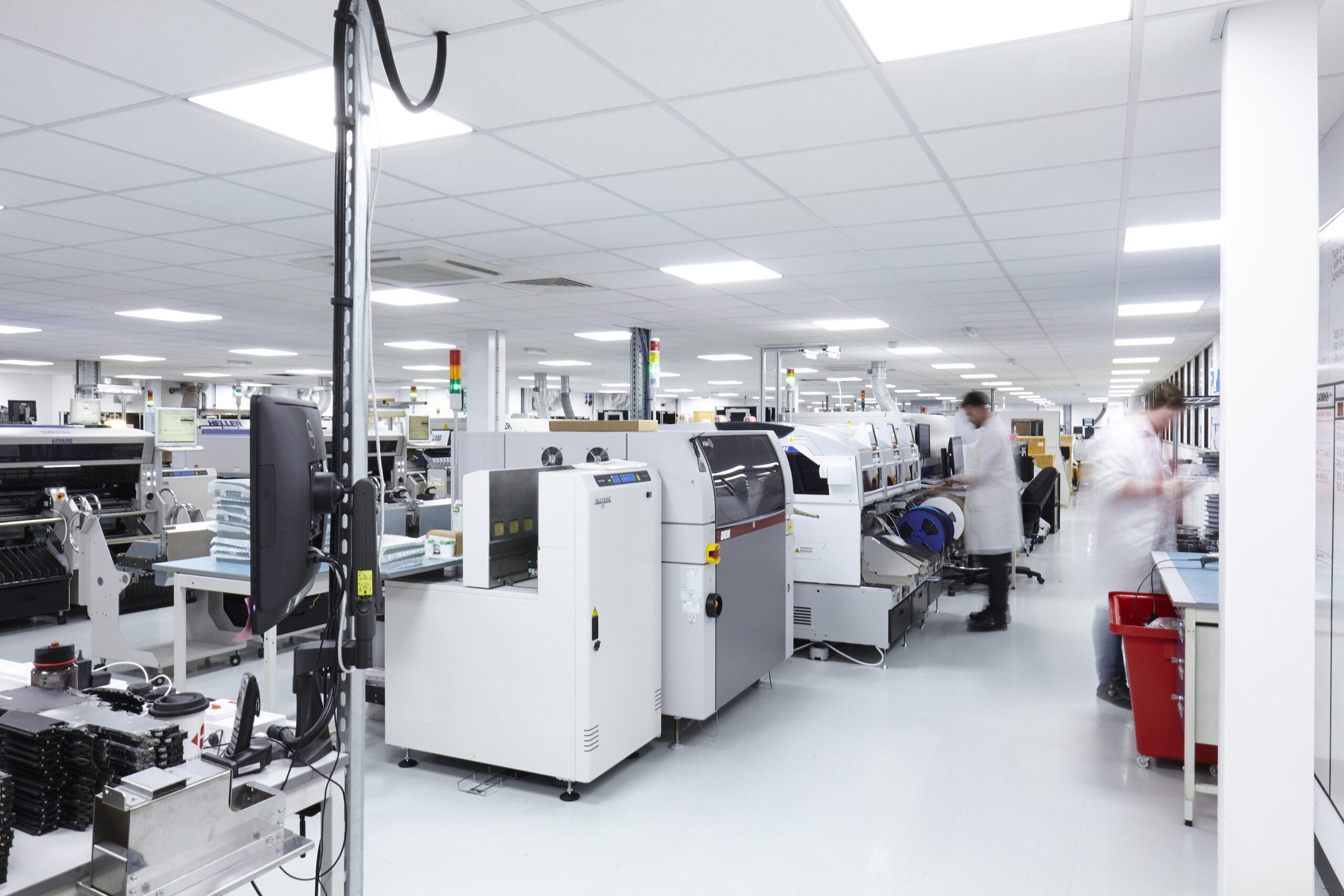 Machinery in Hanover warehouse